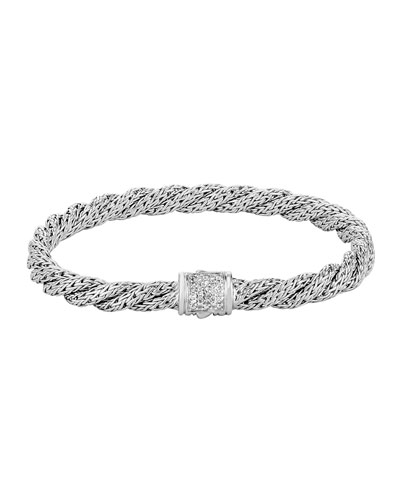 Classic Chain Extra-Small Twisted Chain Bracelet