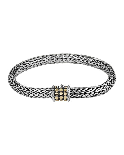 Dot-Clasp Bracelet, Medium
