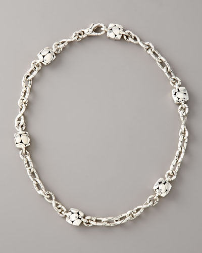 Kali Square-Station Infinity Necklace