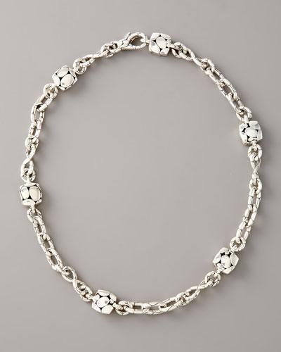 Kali Square-Station Infinity Necklace