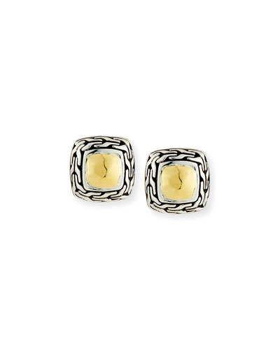 Classic Chain Heritage Stud Earrings