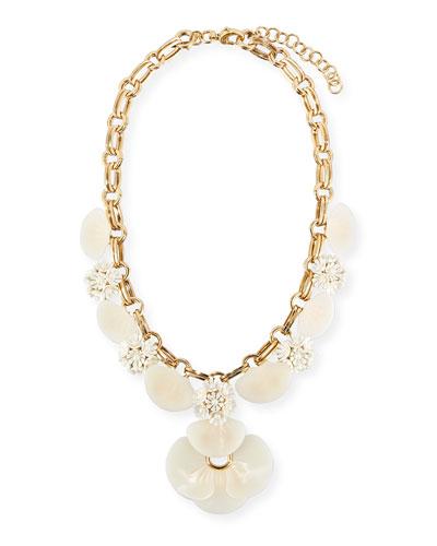 Island Shell Petal Necklace