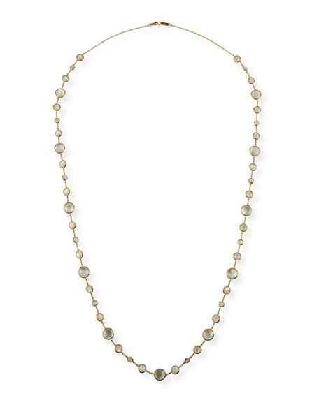 Ippolita 18K Lollipop® Lollitini Long Necklace in Mother-of-Pearl Doublet & Mother-of-Pearl, 36""