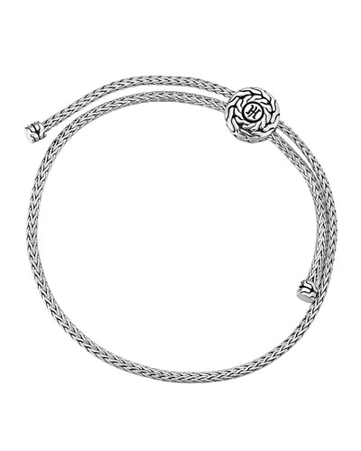 Classic Chain Silver Knot Bracelet