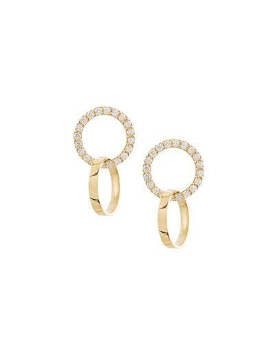 Flawless Vol. 6 Diamond Double-Hoop Earrings