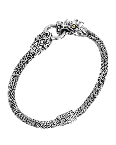 Naga Dragon Station Chain Bracelet