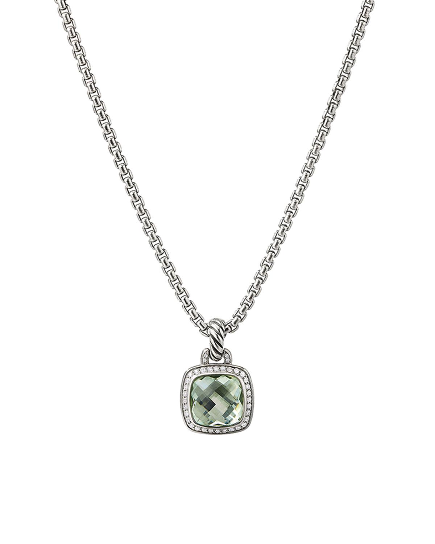 Albion Pendant with Diamonds