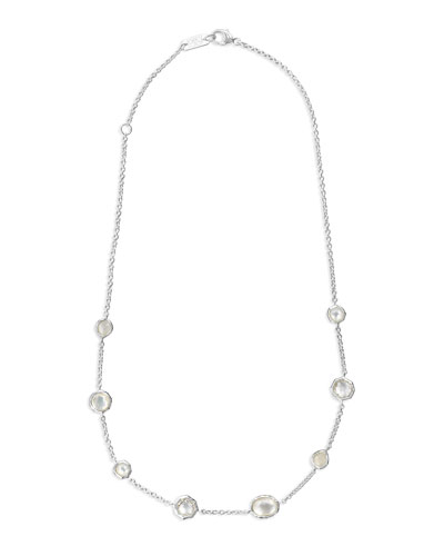 Wonderland Mini Gelato Short Station Necklace in Flirt