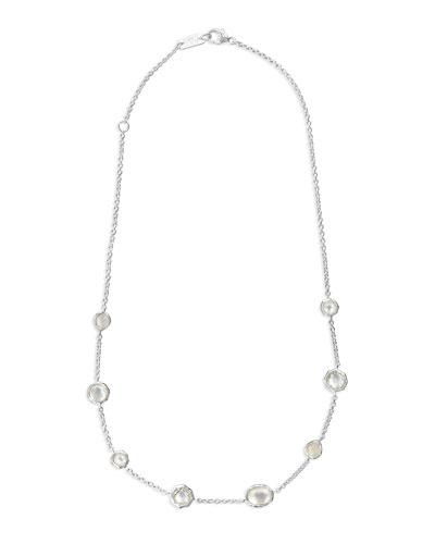 Wonderland Mini Gelato Short Station Necklace in Flirt