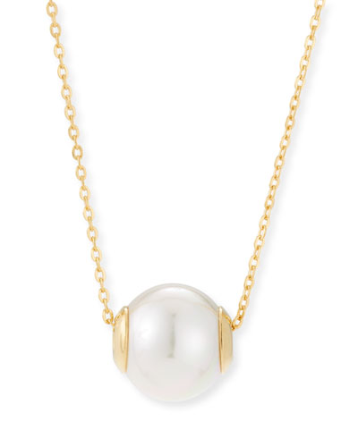 Pearl pendant necklace neiman marcus quick look majorica 12mm simulated pearl pendant necklace goldwhite mozeypictures Choice Image