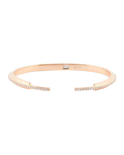 Small Flawless Vol. 6 Diamond Stack Bracelet in 14K Rose Gold