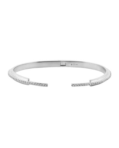 Small Flawless Vol. 6 Diamond Stack Bracelet in 14K White Gold