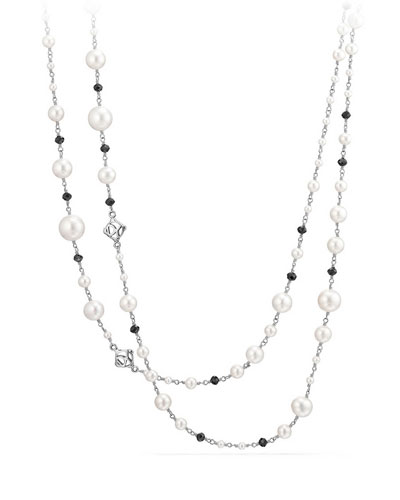 Oceanica Beaded Link Necklace, 62