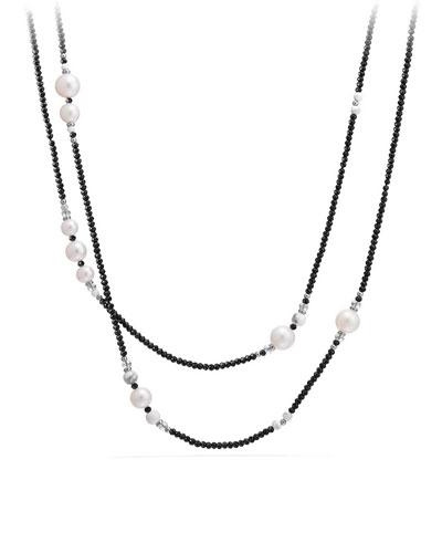 Oceanica Tweejoux Necklace with Pearls, 41