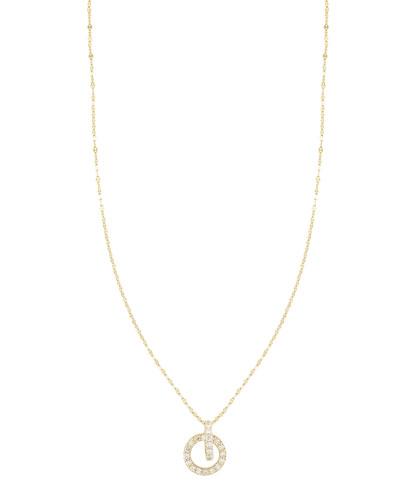 Diamond Lana Link Drop Necklace