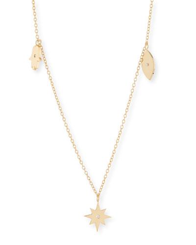 Tavon Charm Necklace