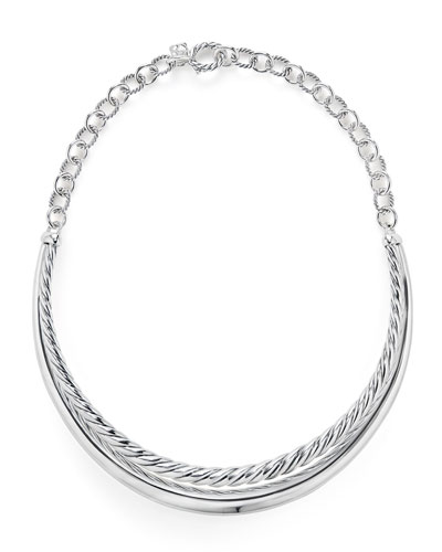 Pure Form Collar Necklace
