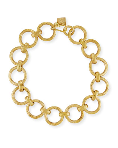 Daima Bronze Link Necklace