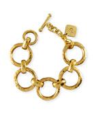 Daima Bronze Link Bracelet