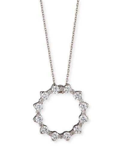 Roberto Coin 18k Cognac Diamond Pavé Falcon Pendant Necklace eSLDQF62fa