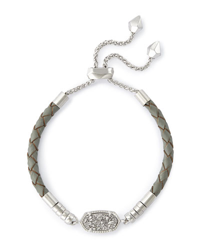 Cruz Bracelet, Gray