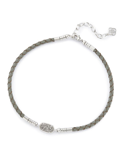 Cooper Necklace, Gray
