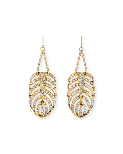 Drift Crystal Statement Earrings