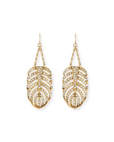 Drift Crystal Statement Earrings