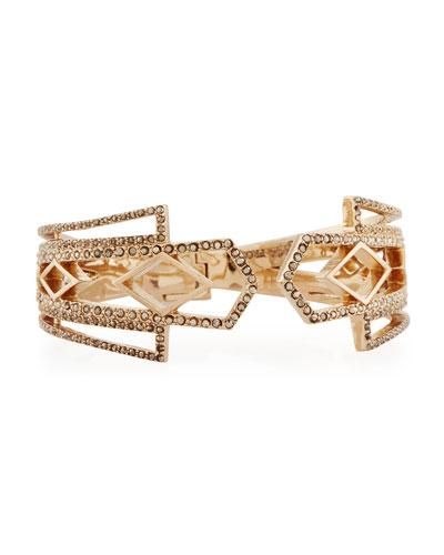 Voyage Crystal Cuff Bracelet