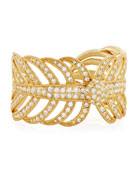 Golden Drift Cuff Bracelet