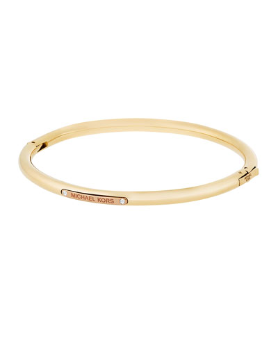 Tailored Two-Tone Cuff Bracelet