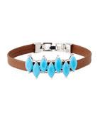 Monarch Mini Jagged Edge Cuff Bracelet