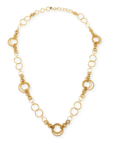 24K Gold-Plated Chain Necklace