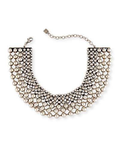 Vernon Multi-Row Choker Necklace