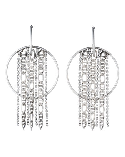 Bruni Hoop Statement Earrings