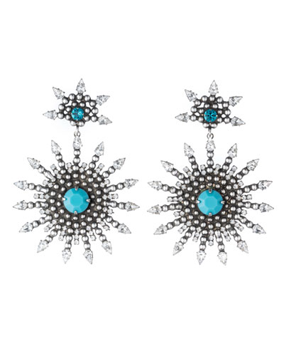 Delano Statement Drop Earrings