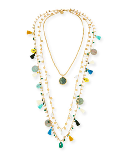 Three-Strand Layering Necklace