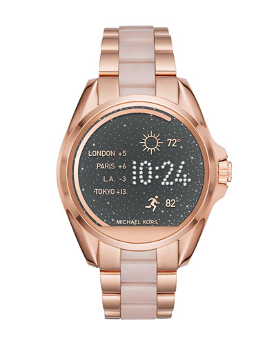 Bradshaw Rose-Golden Display Smartwatch