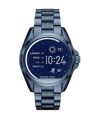 Bradshaw Blue IP Display Smartwatch