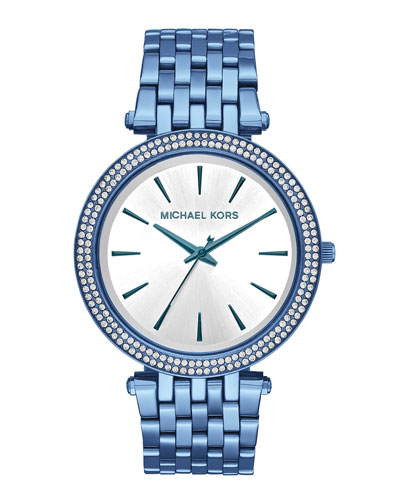 39mm Darci Blue IP Bracelet Watch