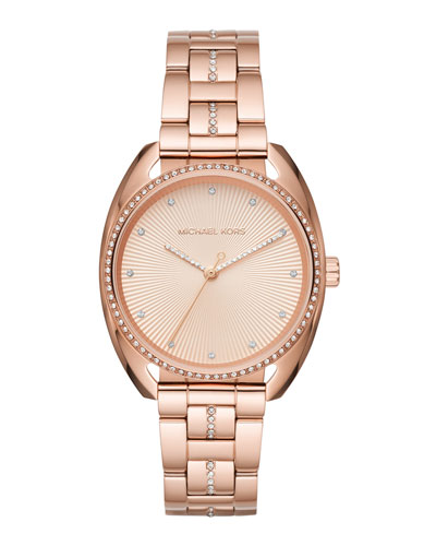 38mm Libby Bracelet Watch, Rose Golden