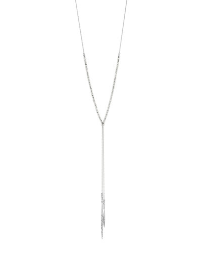 Laguna Adjustable Necklace, Silver