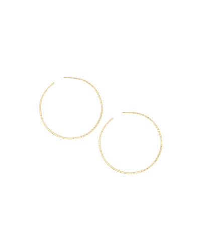 Taner XL Hoop Earrings, Gold