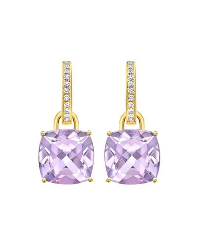 Eternal 18k Gold Detachable Drop Earrings