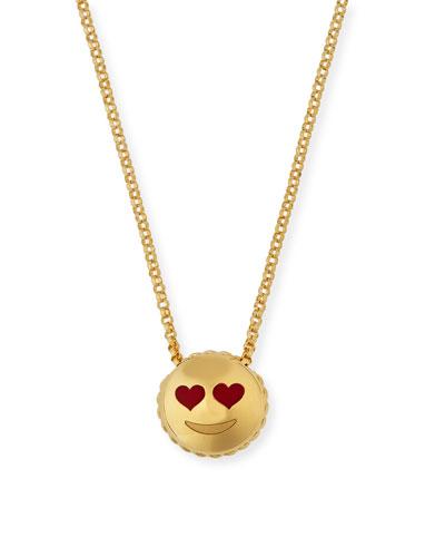 Tiny Treasures Love Emoji Pendant Necklace