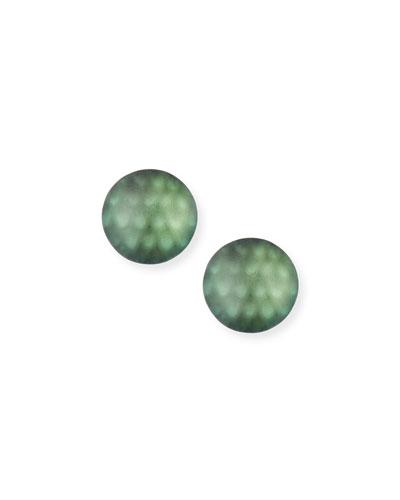 Medium Dome Clip-On Earrings