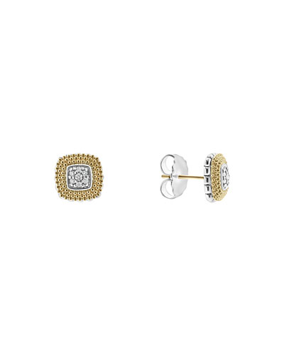 11mm Diamond Lux Stud Earrings