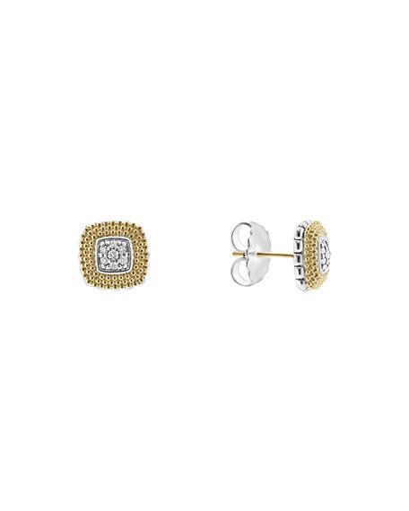 Lagos 11mm Diamond Lux Stud Earrings