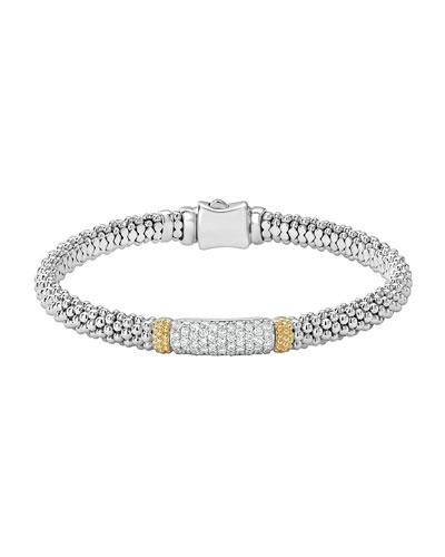 Lagos 6mm Diamond Bracelet