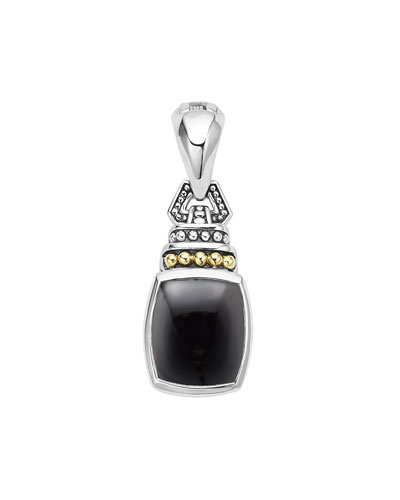 Caviar Color Pendant with Onyx